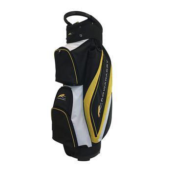 Powakaddy Deluxe Cart Bag 2017  Black  Yellow