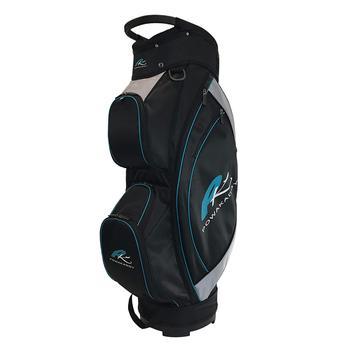 PowaKaddy Lite Cart Bag 2017  Black  Silver  Teal
