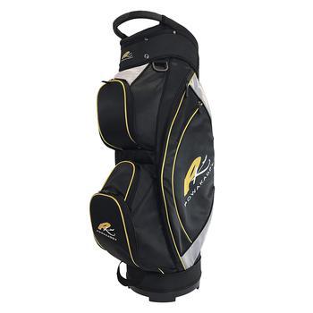 PowaKaddy Lite Cart Bag 2017  Black  Silver  Yellow