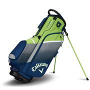 Callaway Chev Stand Bag 2018 - Navy/Green/Silver