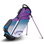 Callaway Chev Stand Bag 2018 - White/Teal/Violet