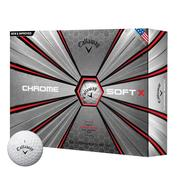 Callaway Chrome Soft X Golf Balls 2018 - White