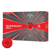 Callaway Superhot Bold Golf Balls - Red
