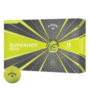 Callaway Superhot Bold Golf Balls - Yellow