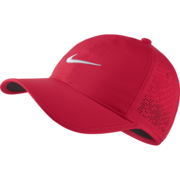 Nike Ladies Heritage86 Perforated Cap - Red (742707-653)