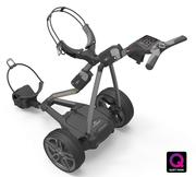Powakaddy FW7s GPS Electric Golf Trolley 2018 - Gun Metal