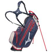 Mizuno BR-DRI Waterproof Stand Bag - Navy / Red BRDRIWPS63NS