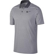 Nike Dry Fit Victory Polo Stripe LC - Dark Grey/White