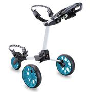 Stewart Golf R1-S Push Trolley - White / Blue