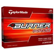 TaylorMade Burner Distance 2018 Golf Ball White Main