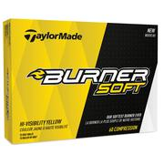 TaylorMade Burner Soft Yellow Golf Balls
