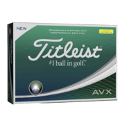 Titleist AVX Balls Yellow Main