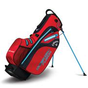 Callaway Hyper Dry Fusion Stand Bag 2018 - Red/Black/Blue