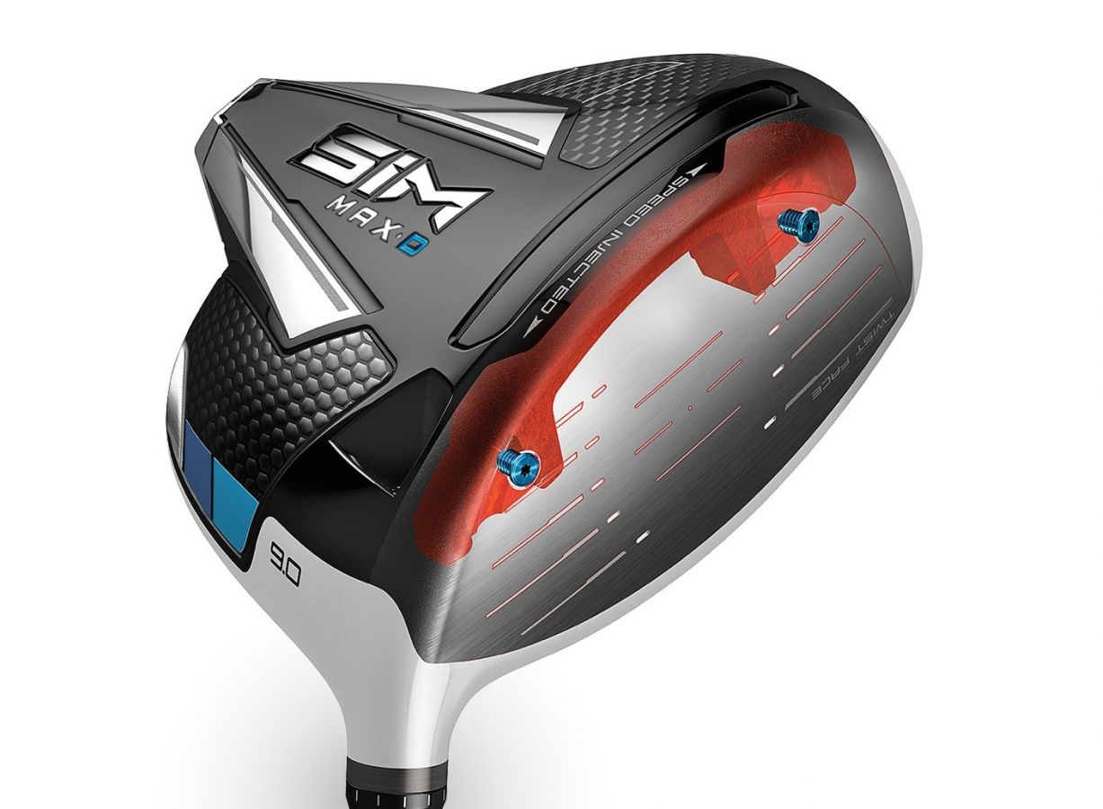 TaylorMade SIM MAX DRAW Driver Speed Injected Twist Face
