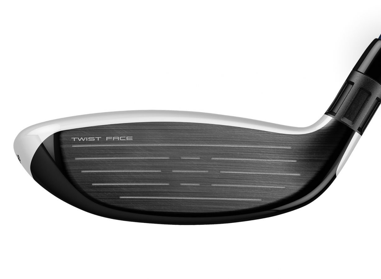 TaylorMade SIM MAX Rescue Twist Face technology