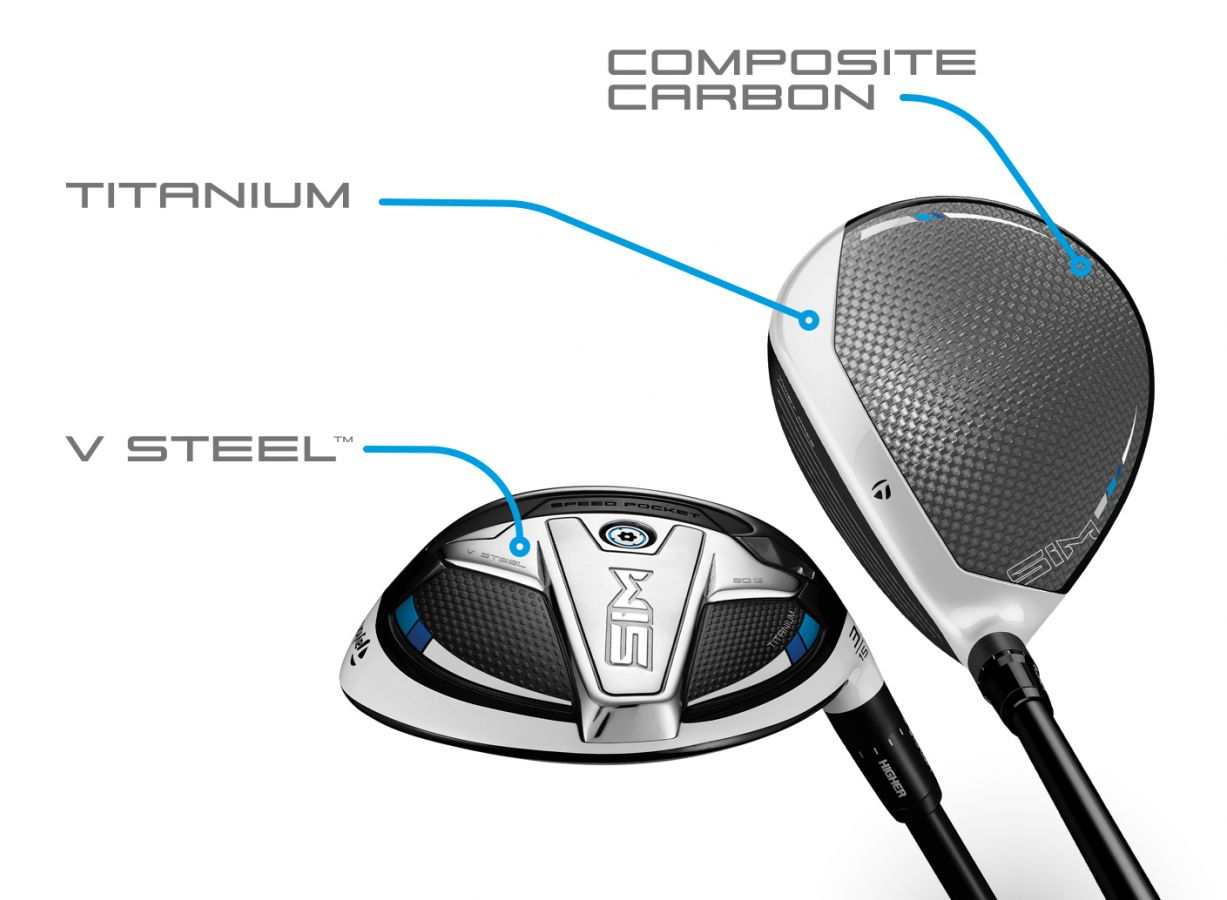 TaylorMade SIM Ti Fairway Woods V Steel pushes CG ultra-low for improved launch and performance